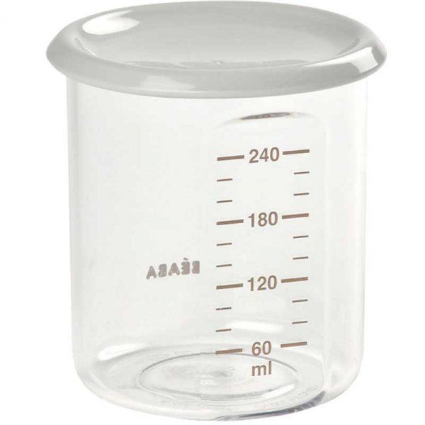 Vaso de plástico Bote de plástico beaba