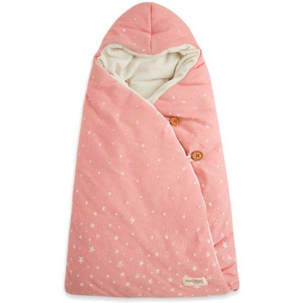 arrullo capucha constellation rosa petitpraia