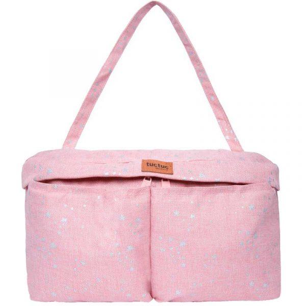 bolso organizador contellation rosa tuc tuc