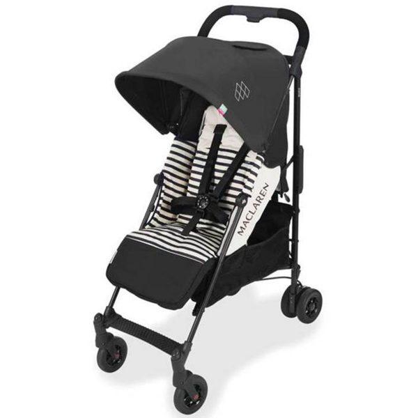 maclaren quest arc rayas negro silla de paseo