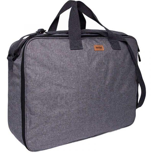 maleta viaje pop up basic gris tuc tuc