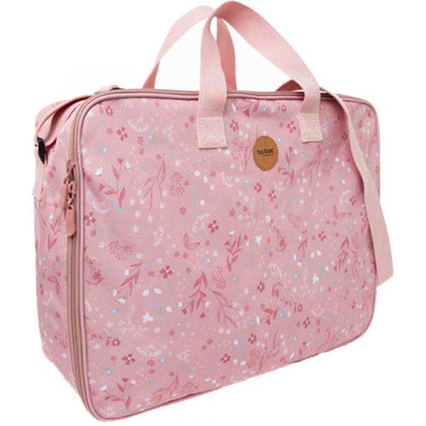 maleta viaje pop up little forest rosa tuc tuc