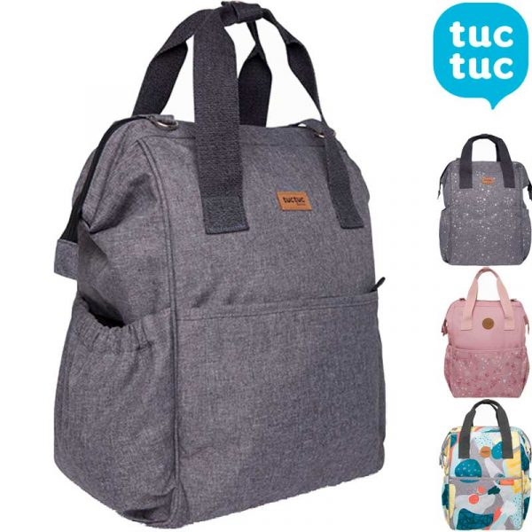 mochila maternal Principal tuc tuc