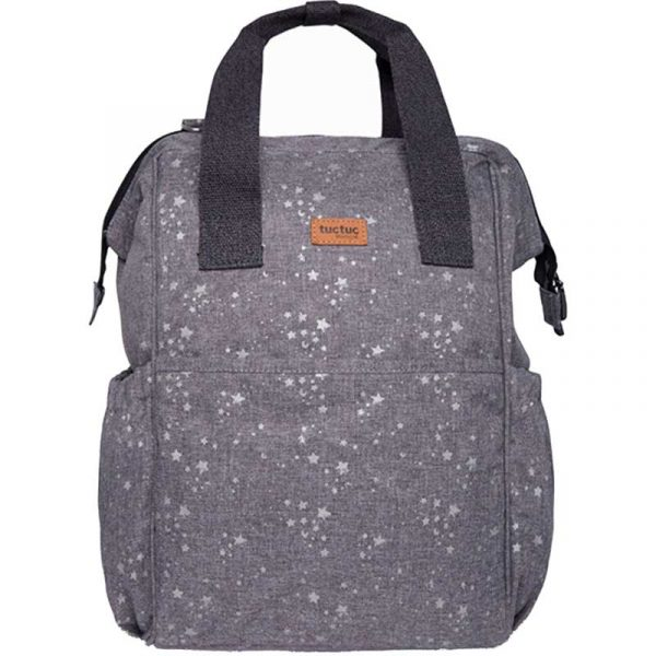 mochila maternal constellation gris tuc tuc