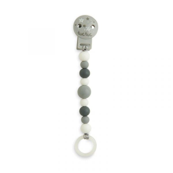 pinza chupete const gris