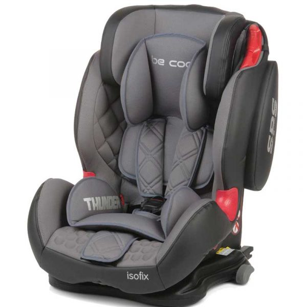 silla coche thunder isofix gris be cool