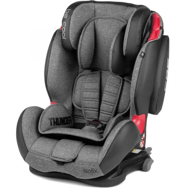 silla coche thunder isofix gris2 be cool