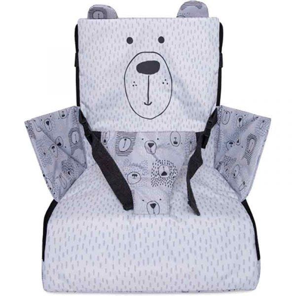 trona portatil bears gris tuc tuc