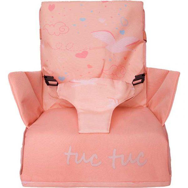 trona portatil lady bird rosa tuc tuc