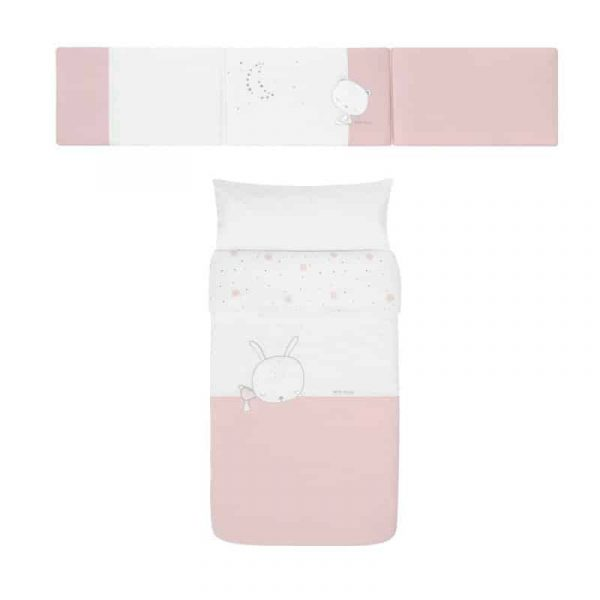 protector nordico sleepy rosa
