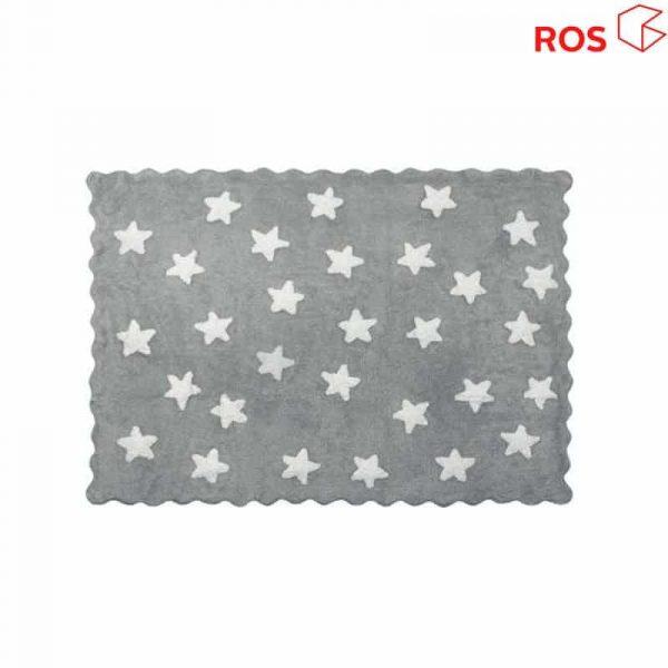 alfombra ros gris