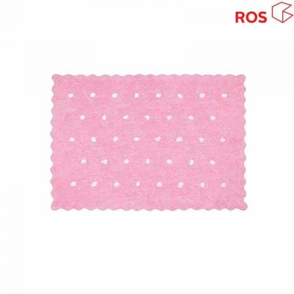alfombra ros rosa