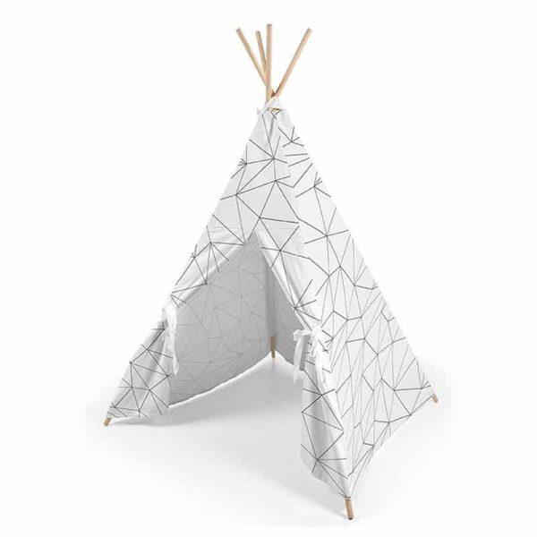 tipi origami blanco ros