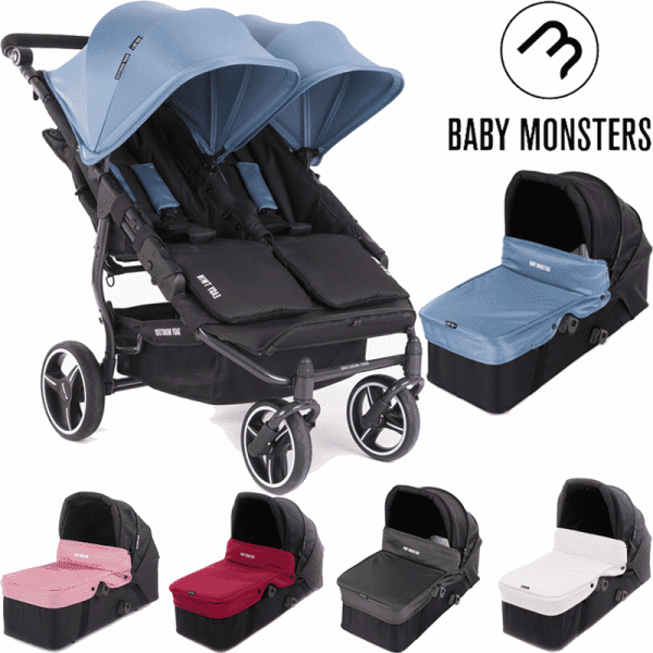 easy twin 3S Baby Monster Principal con capazo