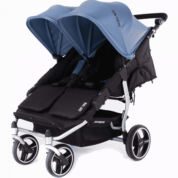silver easy twin 3S Baby Monster Azul Pastel