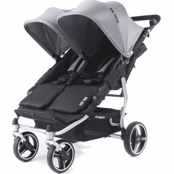 silver easy twin 3S Baby Monster Gris