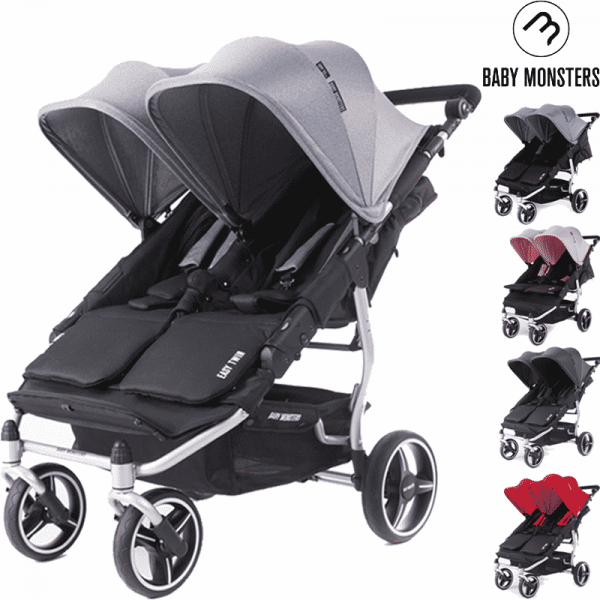 silver easy twin 3S Baby Monster Principal