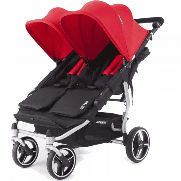 silver easy twin 3S Baby Monster Rojo
