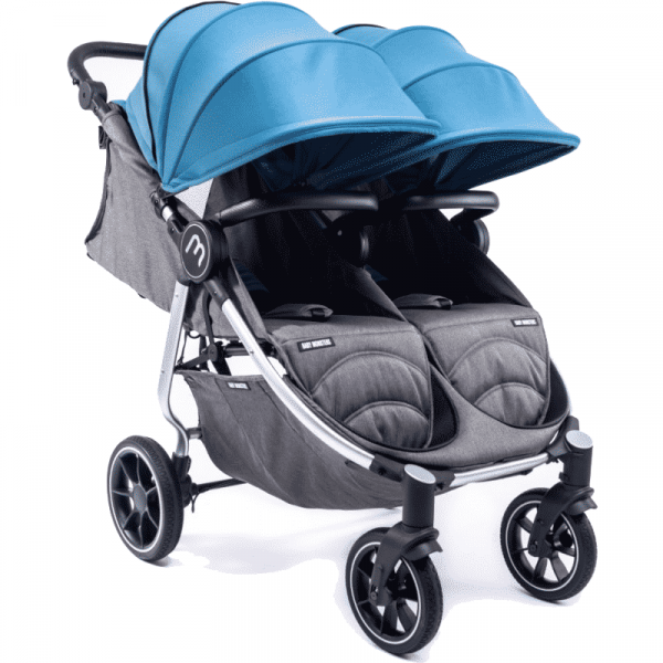 silver easy twin 4 Baby Monster Azul Pastel