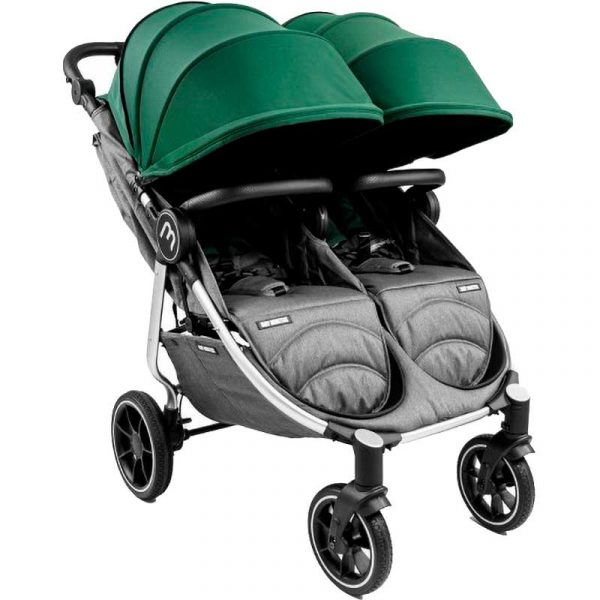 silver easy twin 4 Baby Monster verde