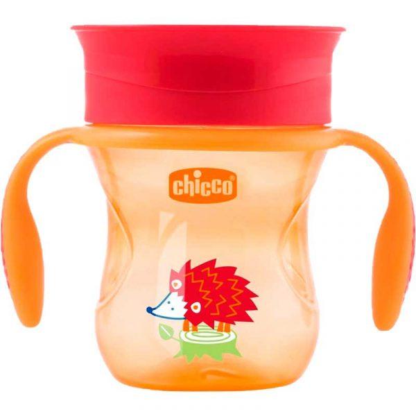 vaso evolutivo perfect naranja chicco