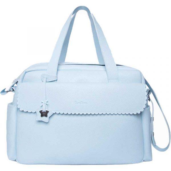 bolsa maternal polipiel azul tuc tuc