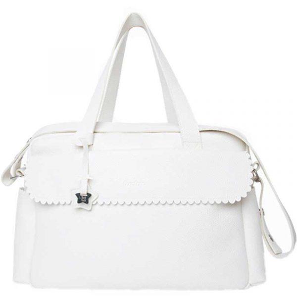 bolsa maternal polipiel blanco tuc tuc