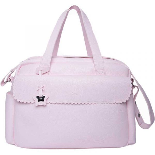 bolsa maternal polipiel rosa tuc tuc